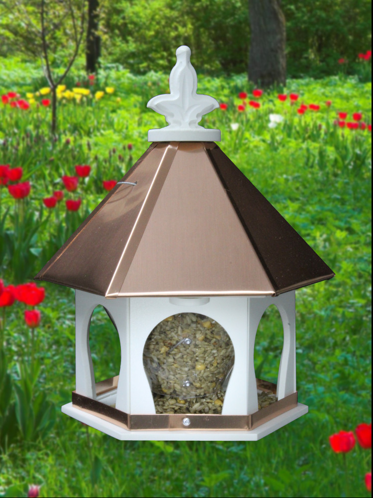 berry round large gilded hanging bird collections product from feeder etc