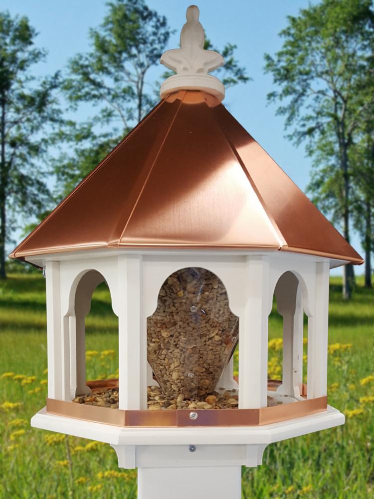 Md Bird Feeder Copper Roof (sbf8c)